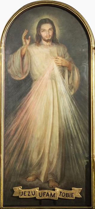 Obraz milosrdného Ježiša